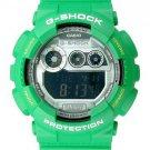 Casio G-Shock Digital Dial Green Resin Mens Watch GD120TS-3CR