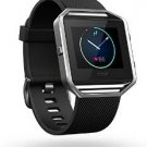 Fitbit Blaze Smart Fitness Watch, Black, Silver, Large  from Fitbit