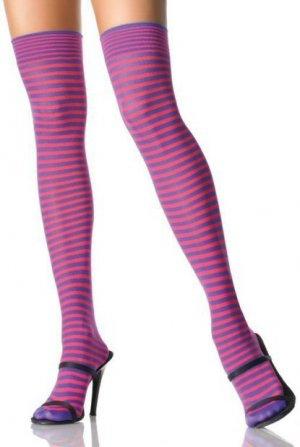 Mini Stripe Thigh High
