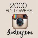 2,000 Instagram Followers