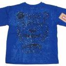 Levis Boys Size 4 Blue Copper Mill Tee Shirt Short Sleeve T-shirt New