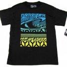 Oneill Mens M Black T-shirt with Blue and Green Logo O'Neill Ryder Tee Shirt
