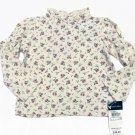 Ralph Lauren Baby Girls 9 Mos Floral Long Sleeve Shirt Rose Print