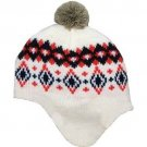 Carters Baby 6-18 Mos Fairisle Knit Beanie Hat with Pom Pom Carter's Girls Boys