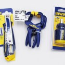 Irwin Hand Tool Gift Pack 4-piece Set Utility Knife Quick Clamps 8-in-1 Multi-Tool