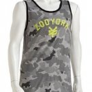 Zoo York Mens S Gray Camo Tank Top Men's Small Sleeveless Shirt