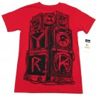 Zoo York Mens S Free Party T-shirt Crimson Red Short Sleeve Tee Shirt