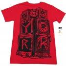 Zoo York Mens S Free Party T-shirt Crimson Red Short Sleeve Tee Shirt