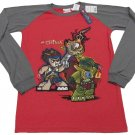Lego Chima Boys XXL 18-20 Raglan Long Sleeve T-shirt Boy's Red and Gray Tee Shirt
