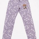 Vanilla Star Juniors size 15 Purple Print Skinny Jeans