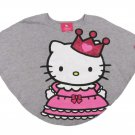 Princess by HELLO KITTY Toddler Girls 3T Dolman Top Shirt Heather Gray