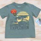 Z Boyz Wear by Nannette Boys size 6 Animal Reserve Safari Explorer T-shirt Short Sleeve Tee Shirt
