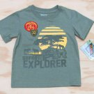 Z Boyz Wear by Nannette Boys size 5 Animal Reserve Safari Explorer T-shirt Short Sleeve Tee Shirt