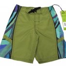 Vast Boys Size 4 Green and Purple Boardshorts Swim Board Shorts New Kids