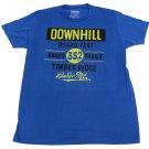 Urban Pipeline Mens XL Snow Board Fest T-shirt Blue Short Sleeve Tee Shirt New Extra Large