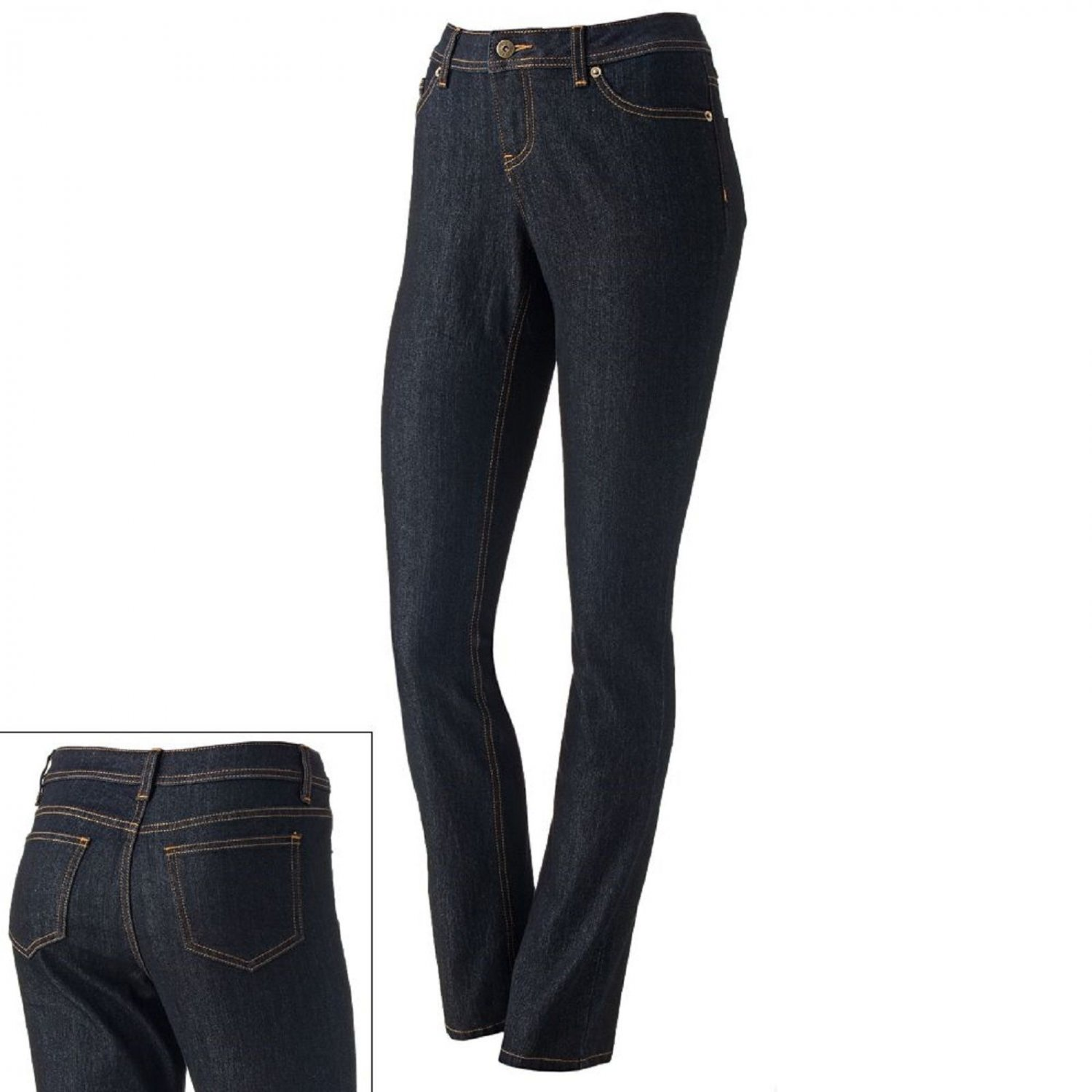 SO Juniors size 3 Super Skinny Jeans Short Dark Blue Rinse New