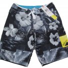 Speedo Mens size 32 Dobby Watershorts Boardshorts with Speedry Gray Swim Shorts New