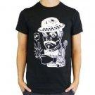 Quiksilver Mens XL Dandy Tee Shirt Black Short Sleeve T-shirt Extra Large