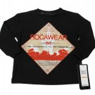 Rocawear Boys 2T Black Long Sleeve T-shirt Toddler Tee Shirt New