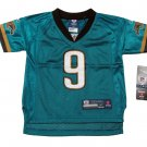 Reebok Toddler Boys 3T Garrard #9 Jacksonville Jaguars NFL Jersey New