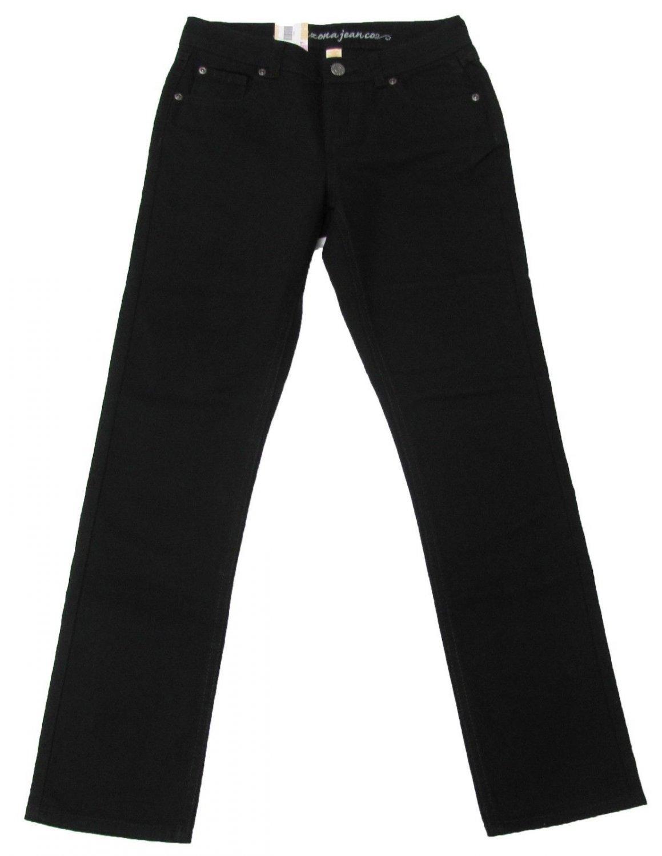 Arizona Girls Size 12 Basic Black Skinny Jeans Youth New