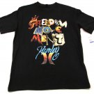 Hurley Boys XL Freedom Movement Tee Shirt Black Short Sleeve Cotton T-shirt