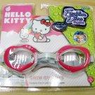 Hello Kitty Little Girls Fashion Diva Swim Goggles New
