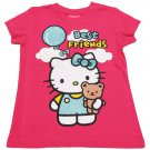 Hello Kitty Girls size 5 Best Friends Tee Shirt Dark Pink T-shirt New