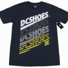 DC Shoes Mens S Scoop Tee Shirt FastDry T-shirt Navy Blue