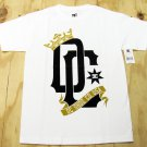 DC Shoes Mens S Chalice T-shirt White Short Sleeve Tee Shirt Logo with Crown Small