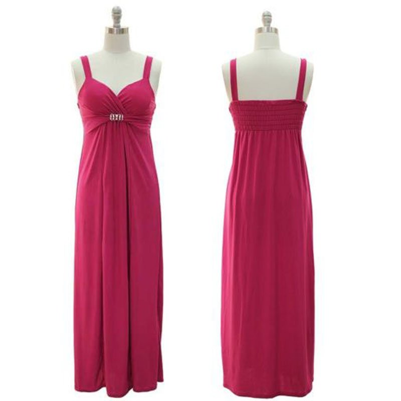 jon & anna Long Maxi Dress S Pink Sweetheart Neckline Sleeveless Womens 8808