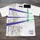 Rocawear Boys T-shirt White Purple Green Logo Short Sleeve Crew Tee Shirt sz 7
