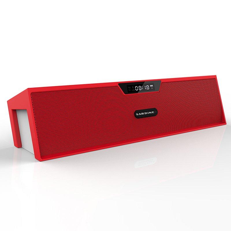 Sardine Alarm Bluetooth Speaker (Red)
