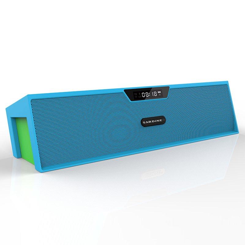 Sardine Alarm Bluetooth Speaker (Blue)