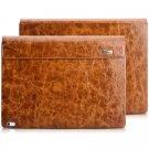 ICARER Microsoft Surface Book Case, Oil Wax Retro Genuine Leather Detachable Case