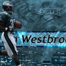 Brian Westbrook Philadelphia NFL 24x18 Print Poster
