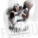 Allen Iverson Besiktas 2011 NBA 24x18 Print Poster