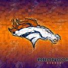 Denver Broncos Logo Football NFL 24x18 Print Poster