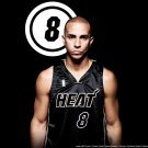 Carlos Arroyo Miami Heat NBA 24x18 Print Poster