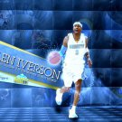 Allen Iverson Denver Nuggets NBA 24x18 Print Poster