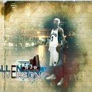 Allen Iverson Sepia Grizzlies NBA 24x18 Print Poster