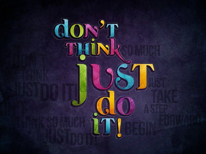 Dont Think Just Do It Nike Orlando Espinosa 24x18 Print POSTER