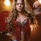 Shakira Singer Dancer Folk Pop Rock Latino 24x18 Print POSTER
