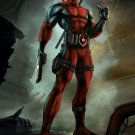 Deadpool Action Game Marvel Comics 24x18 Print POSTER
