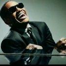 Ray Charles Music Pianist Jazz Blues 24x18 Print POSTER