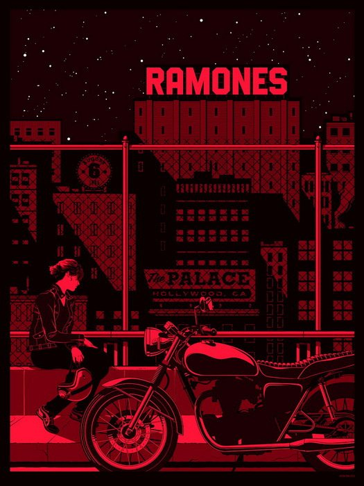 Ramones Punk Rock Band Music 24x18 Print POSTER
