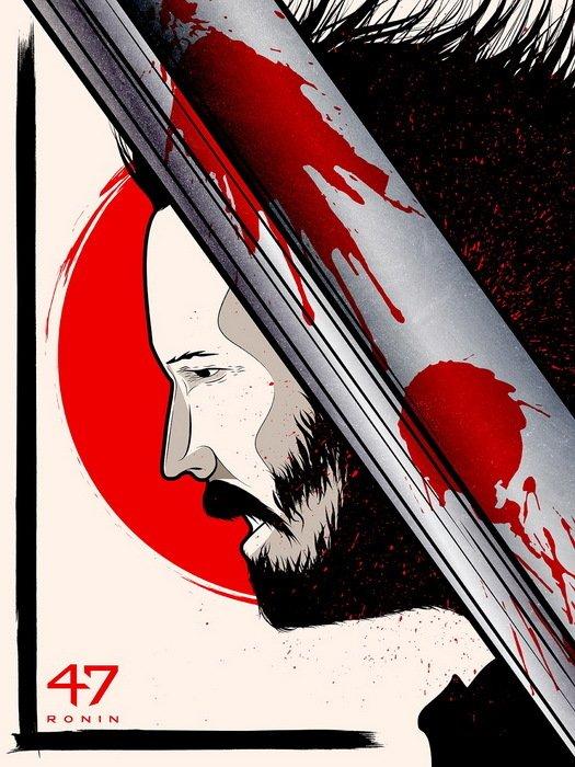 47 Ronin Movie Thriller Adventure 24x18 Print POSTER