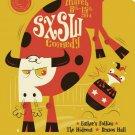 Dave Perillo Comedy Sxsw Brazos Hall 24x18 Print POSTER