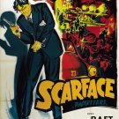 Scarface Paul Muni 1932 Retro Movie Vintage 24x18 Print Poster