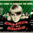 Children Of The Damned Retro Movie Vintage 24x18 Print Poster